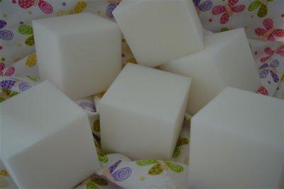 Schuimrubber blokken 8 x 8 x 8 cm